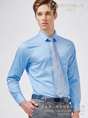 <b>男士修身长袖衬衣</b>