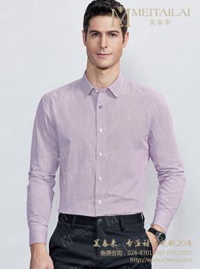 <b>商务尖领修身男士衬衣</b>