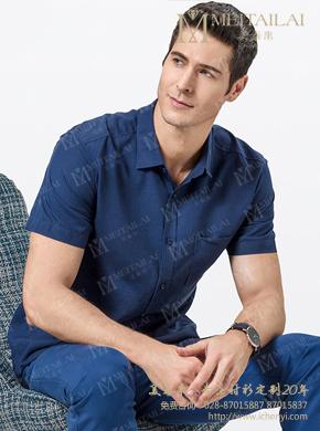 <b>男士短袖衬衣</b>