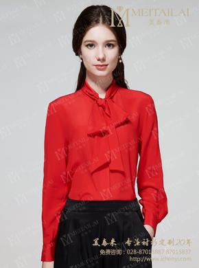 <b>时装雪纺女士衬衣生产加工</b>